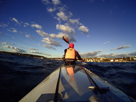 Gopro and My Sea Kayak In Sydney, Australia - 050