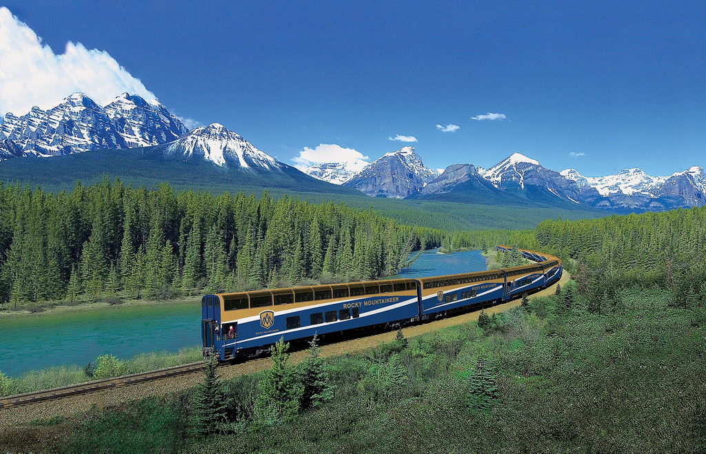 Train Rocky Mountaineer