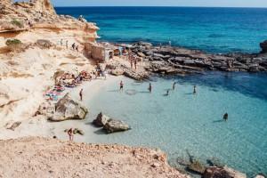 Les plages d'Ibiza
